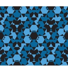 Seamless pattern abstract honeycomb mosaic vector