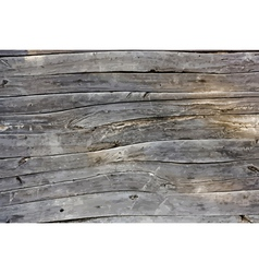 Wooden wall vector image