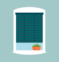 type of house windows jalousie element isolated vector image