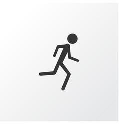 Jogging icon symbol premium quality isolated vector