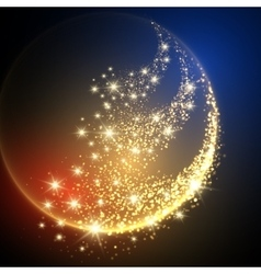 Sparkle Space Background vector image