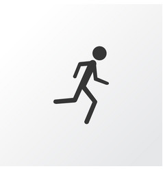 Jogging icon symbol premium quality isolated vector