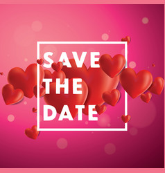 Save the date background vector