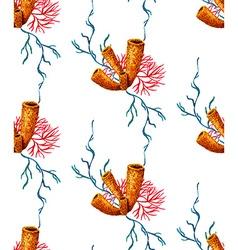 Sponge Pattern vector image vector image