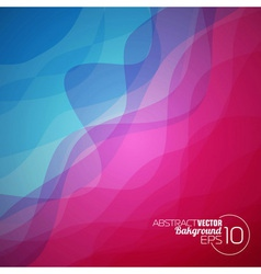 Abstract wave background design vector image vector image