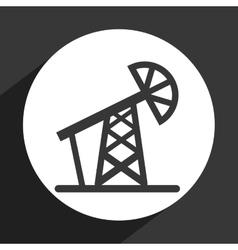 fuel icon design vector image vector image