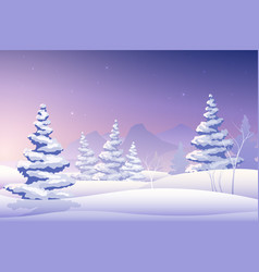 merry christmas fairy background vector image vector image