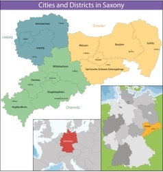 Free state of saxony vector