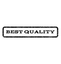 best quality watermark stamp vector image