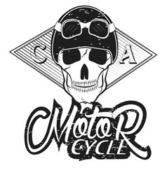Set of vintage bikers logo vector