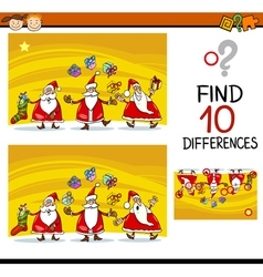 Differences task for children vector