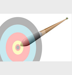 Speeding arrow vector