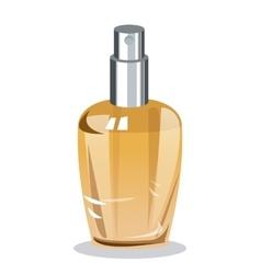 perfume bottle elegance fragrance wo vector image