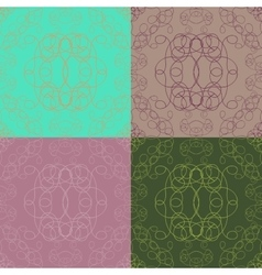 Colorful seamless tile pattern vector