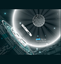 Abstract space background 2 vector