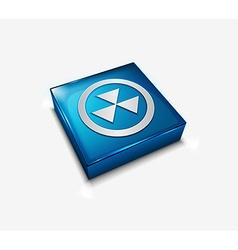 biohazard web icon vector image