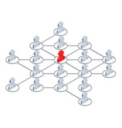 Network people vector