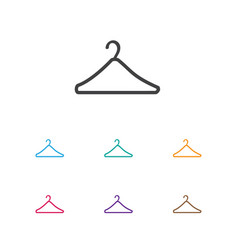 Of trade symbol on suspender vector