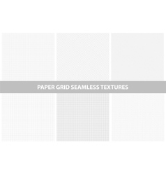 Paper textures seamless collection vector
