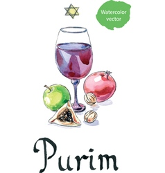 Purim vector image