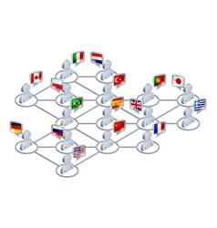 International network vector