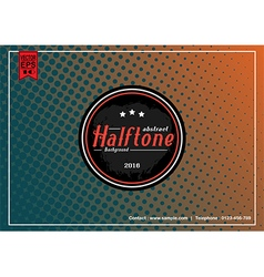 Abstract Halftone Patterns background vector image vector image