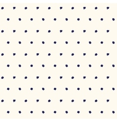 Blue polka dot pattern vector image