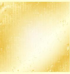 Gold grunge speckled background vector