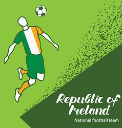 Republic of Ireland 4 vector image