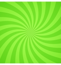Swirling radial bright green pattern background vector