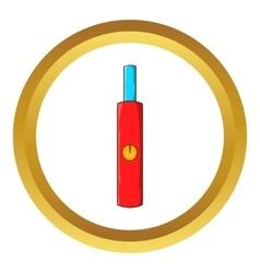 Electronic cigarette icon vector image