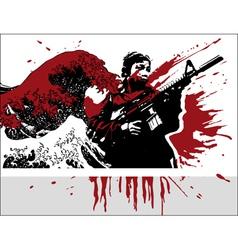 war vector image