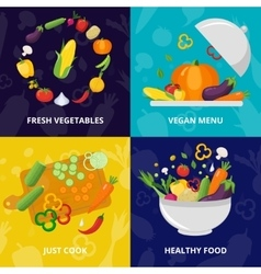 Vegetables isolated icon set vector