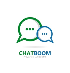 Chat icon or logo vector