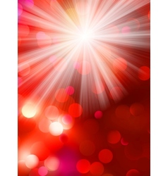 Colorful bokeh light background EPS 10 vector image