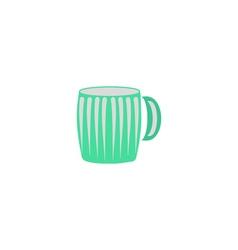 Mug icon vector