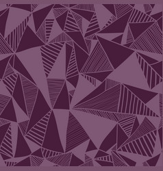 Seamless texture with triangles vector