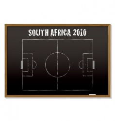 world cup South Africa 2010 vector image