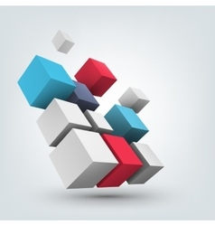 Composition of 3d cubes vector