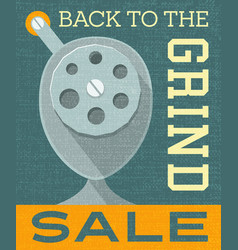 Back to school sale banner poster design vector
