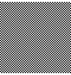 Black and white checkered square pattern vector