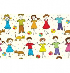 children funny vector image