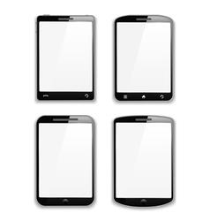 Modern Smartphones vector image vector image