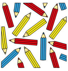 Pencil color icon stock vector