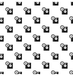 Sale pattern simple style vector image vector image
