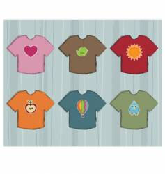 t-shirt designs vector image vector image