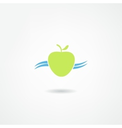 Apple icon vector