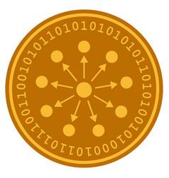 Bang expanse digital coin vector