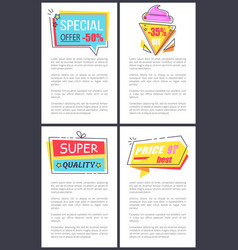 special offer super quality vector image