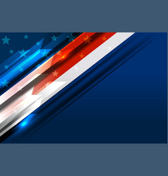 usa flag background vector image